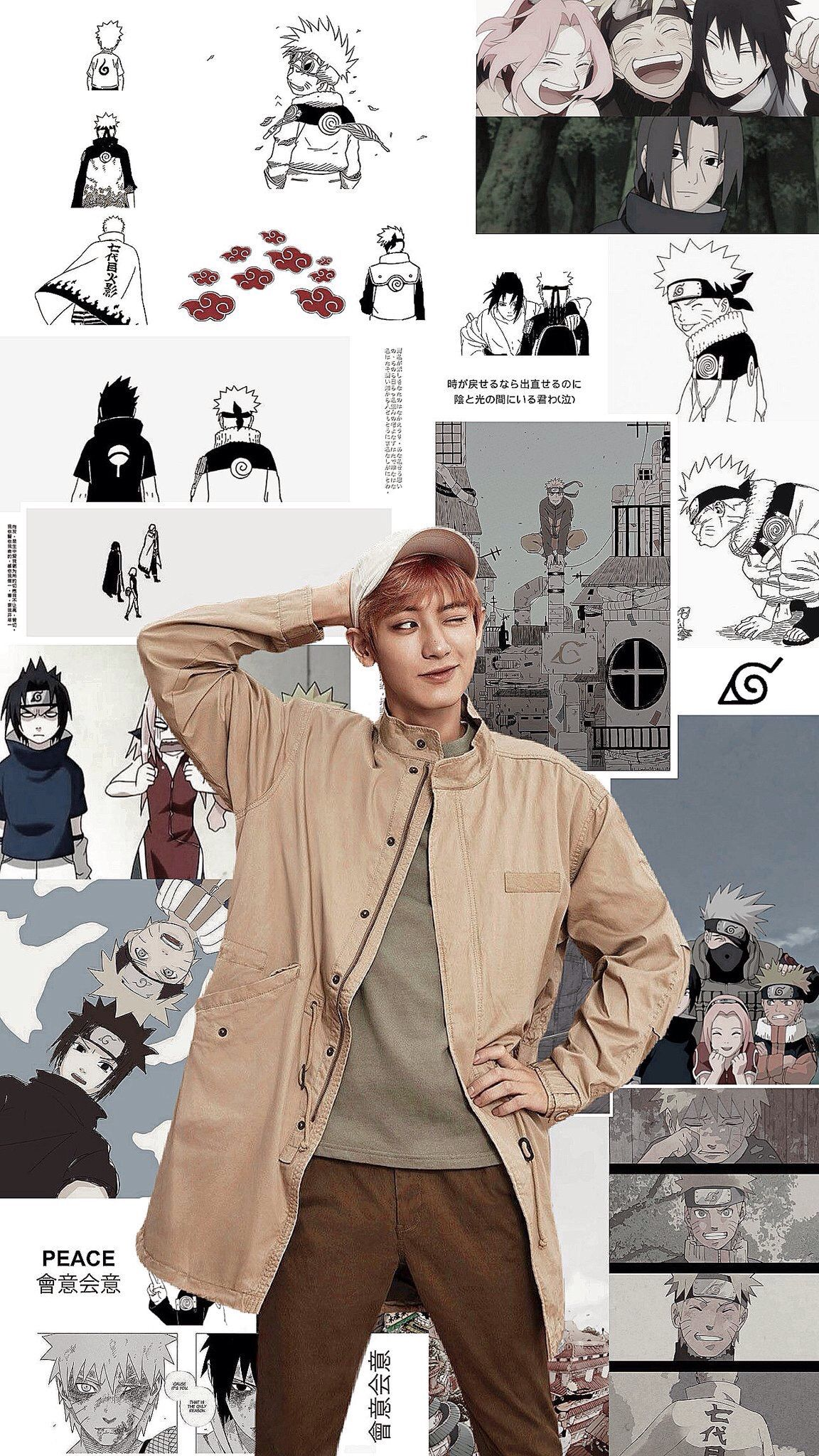 Latest Funny Anime exo locks   (@exowllpp) / Twitter chanyeol and naruto.  #chanyeol #naruto #exo #exowallpaper #anime #kpop #realpcy #kpopwallpaper #aesthetic 11