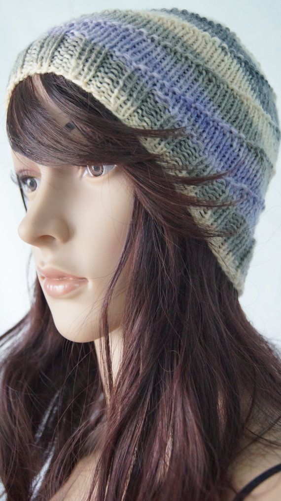 8c3b4272a30 Items similar to Hand Knit 100% Washable Wool Unisex Winter Sports Toque  Beanie - Hand Knit Mens Hat - Hand Knit Womens Hat - Knit Washable Winter  Hat on ...