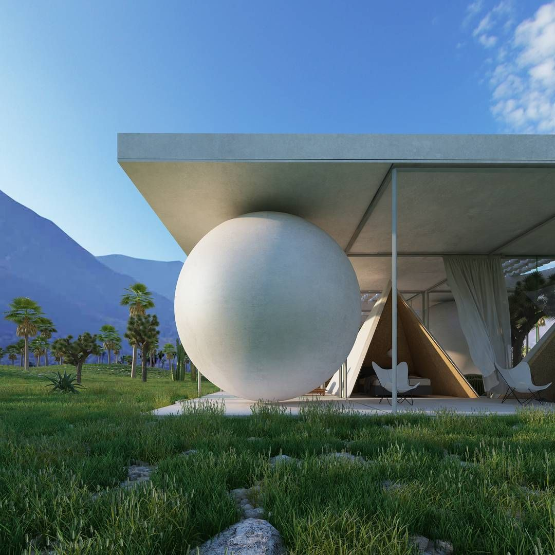 34 Likes, 1 Comments   Cyril Lancelin (@town.and.concrete) · Palm Springs CommentHouseCabinsConcreteArchitectsBuildingsLodgesHaus