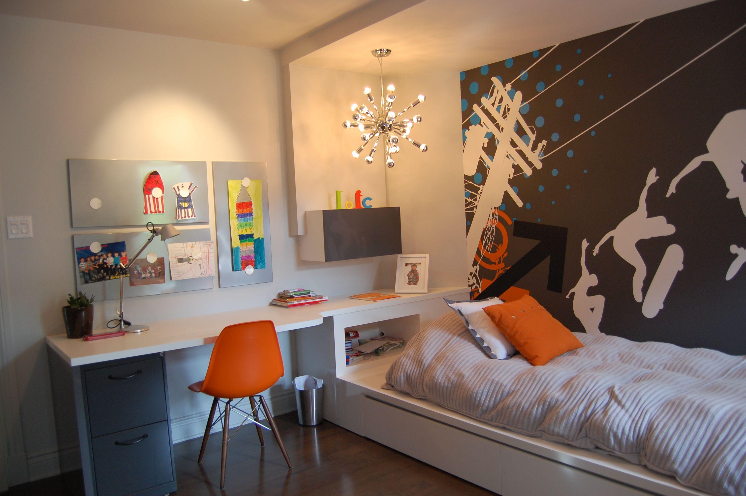 Chambre à coucher de garçon  Projeto sala dos meninos, Quartos de