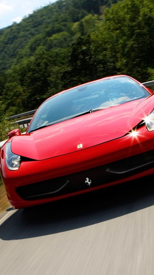 Preview Wallpaper Ferrari Red Cars Sport 750x1334 Ferrari 458