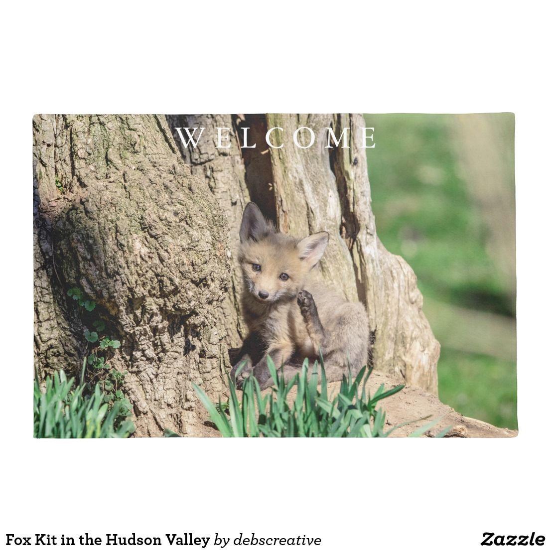 fox kit in the hudson valley doormat doormats to purchase rh pinterest com