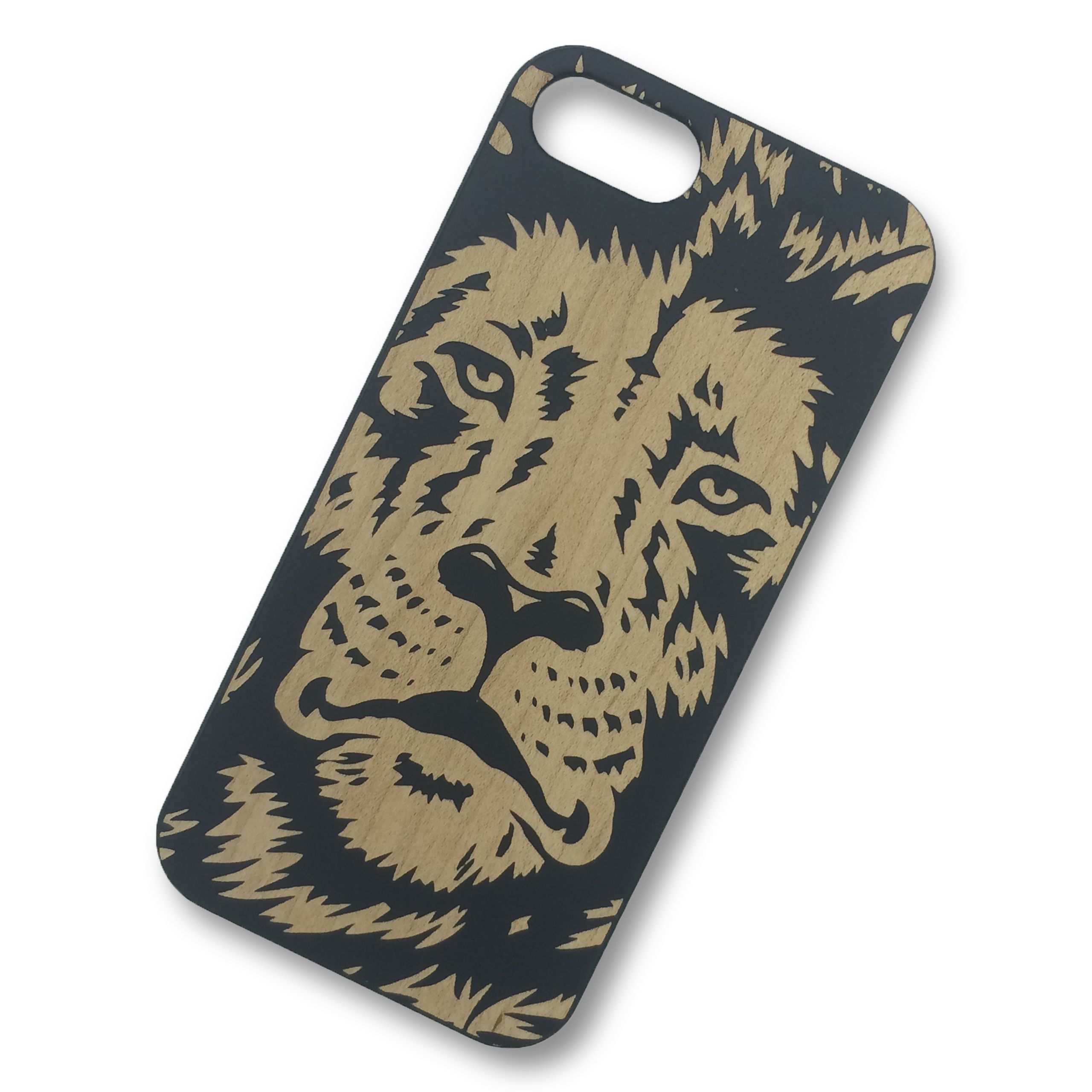 iPhone 6 6s Lion Wooden Phone Case