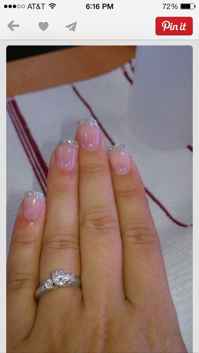 Wedding nails | Woolsey Wedding board | Pinterest | Wedding, Nail ...