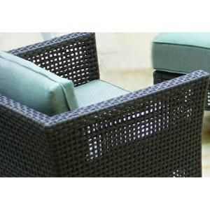 Hampton Bay Fenton 4 Piece Patio Seating Set With Peacock And Java