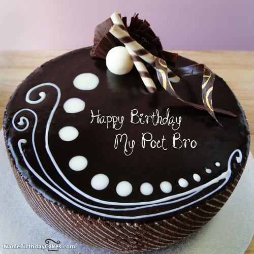 Surprise Image For Candy Chocolate Cake For Friends With Name My