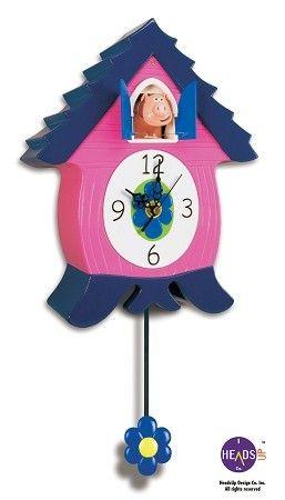 Cuckoo Kingdom, Inc - OinkCoo Hog Coo Coo Clock, Novelty Cuckoo Clock,  Model