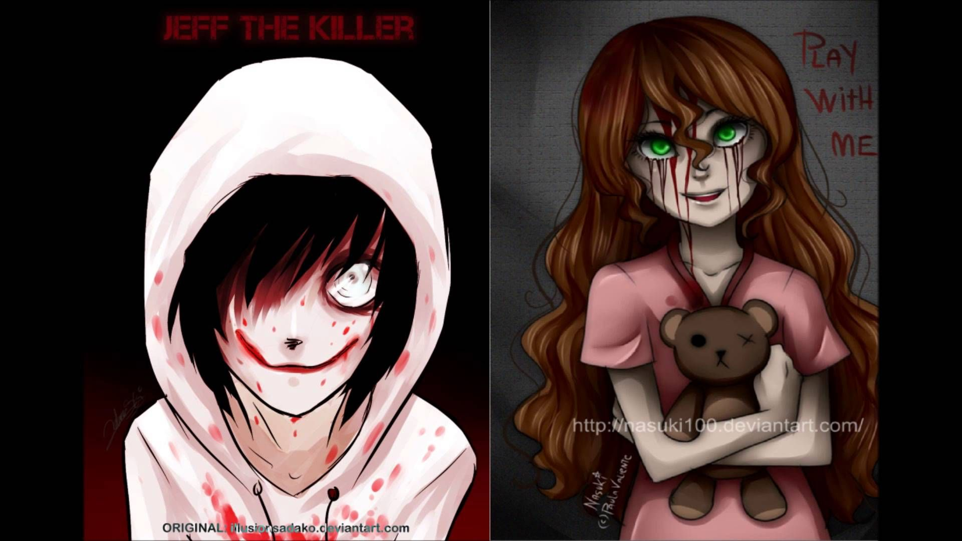 Killer Sally Creepypasta X Jeff