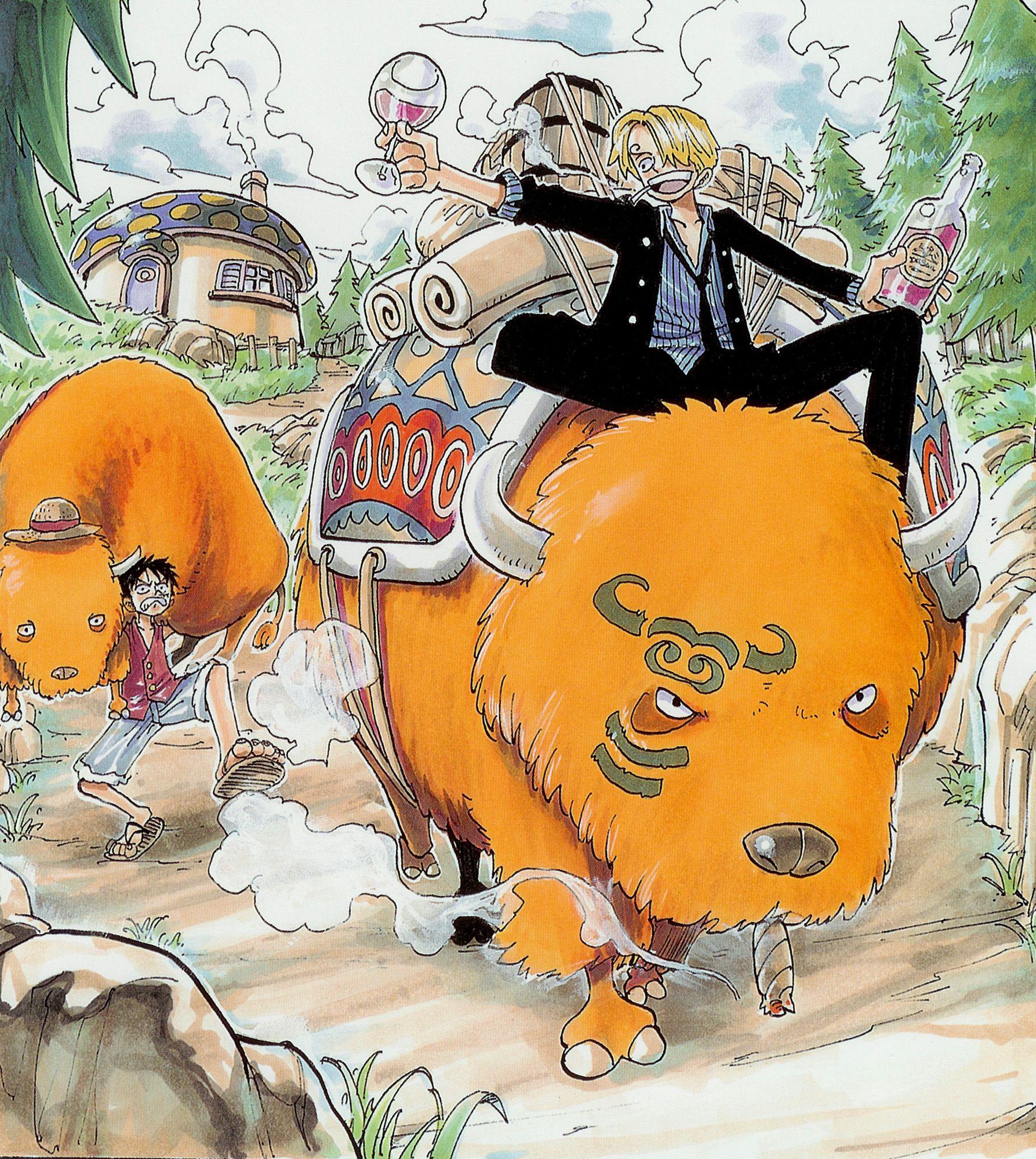 One Piece Art: One Piece Artbook Illustration By Eiichiro Oda