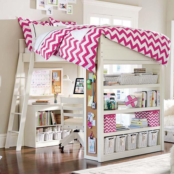 Bedroom Athletics Keira Bedroom Furniture Ideas 2016 Teal Blue Bedroom Ideas Bedroom Ceiling Light Fixtures Ideas: Sleep + Study Loft(R) , Full, Simply White