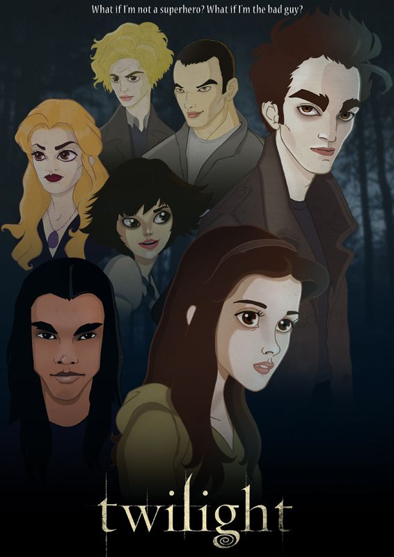 Twilight By Chicourano In 2019 Twilight Book Vampire