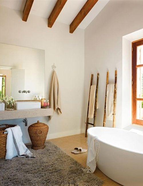 Chicdeco Blog 10 preciosos baños rústico-chic10 gorgeous rustic