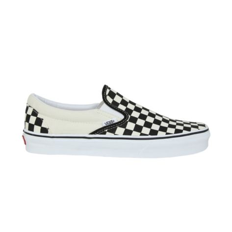 7d24bbbcb2f Shop for Vans Slip-On Chex Skate Shoe in Black White at Journeys Shoes. Shop  today for the hottest brands in mens shoes and womens shoes at Journeys.com.