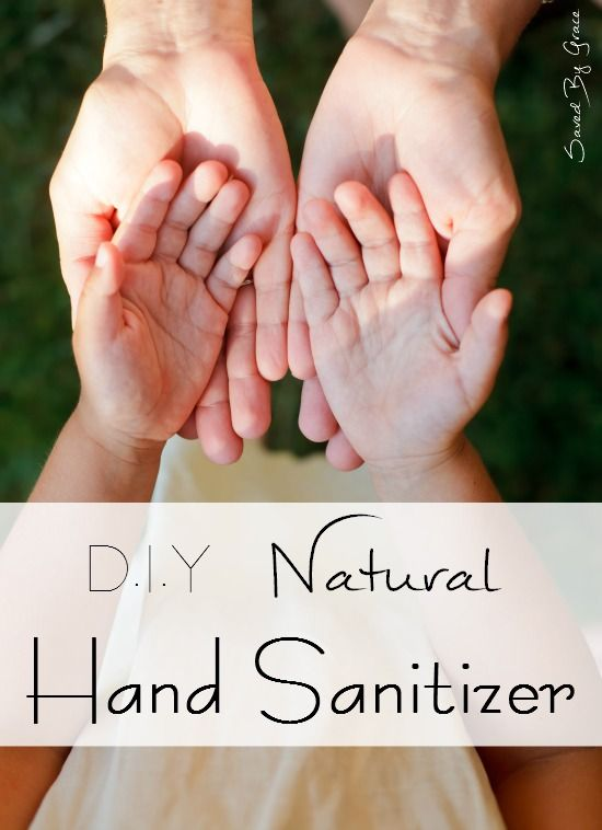 Diy Natural Hand Sanitizer Easy To Make And Natural Too Less