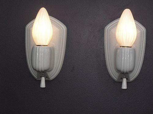 Paulding White Sconces Sconces Vintage Lighting Vintage