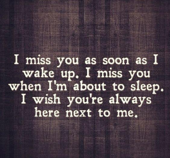 3 I Miss You I Need You I Love You I Want To Be With You I M