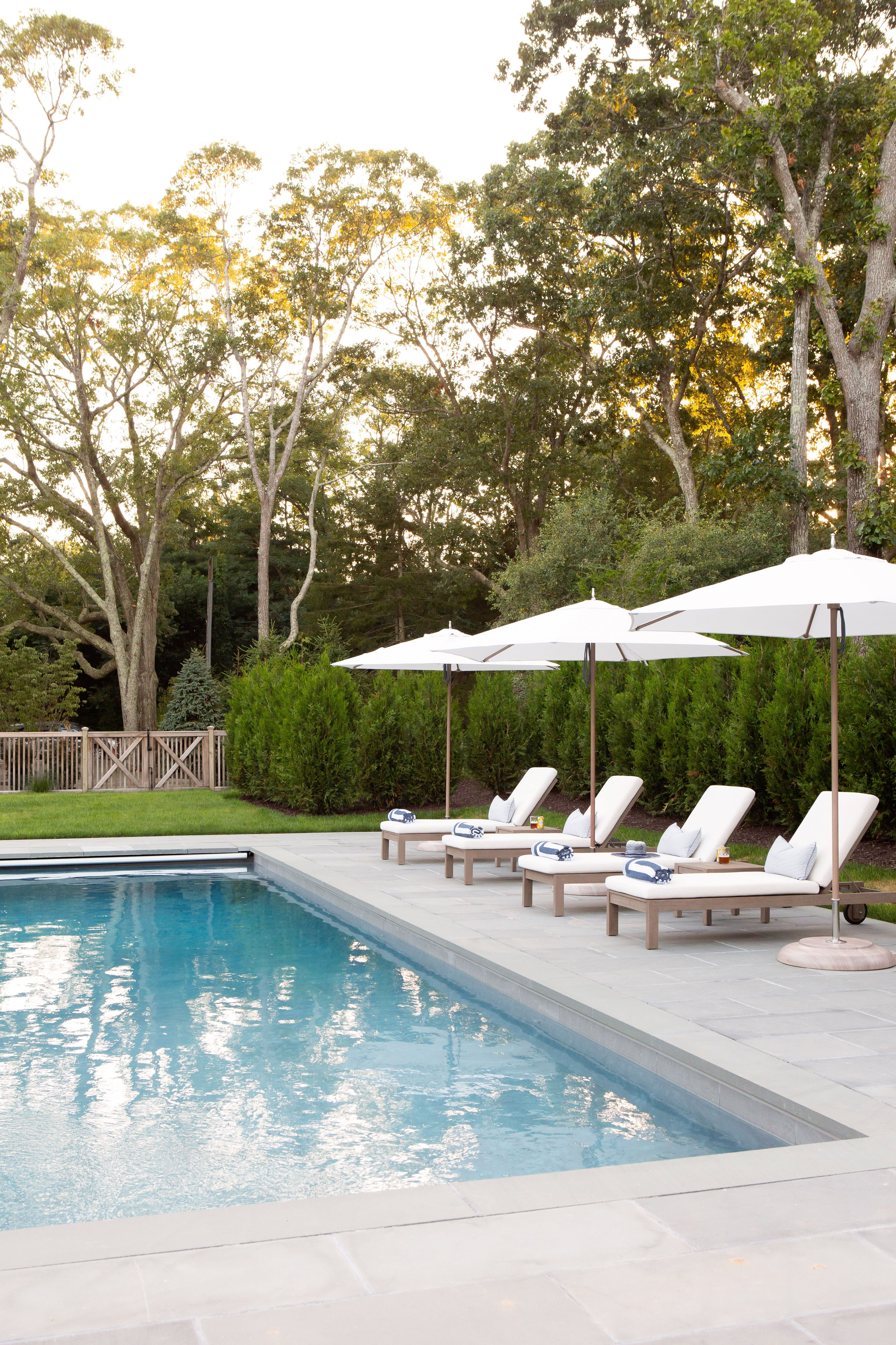 A Waterfront Home That Ll Make You Wish It Was Still Summer Pool Furniture