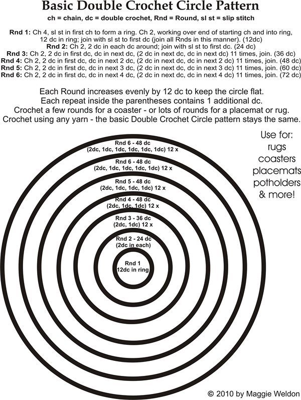 Basic Circular Increase