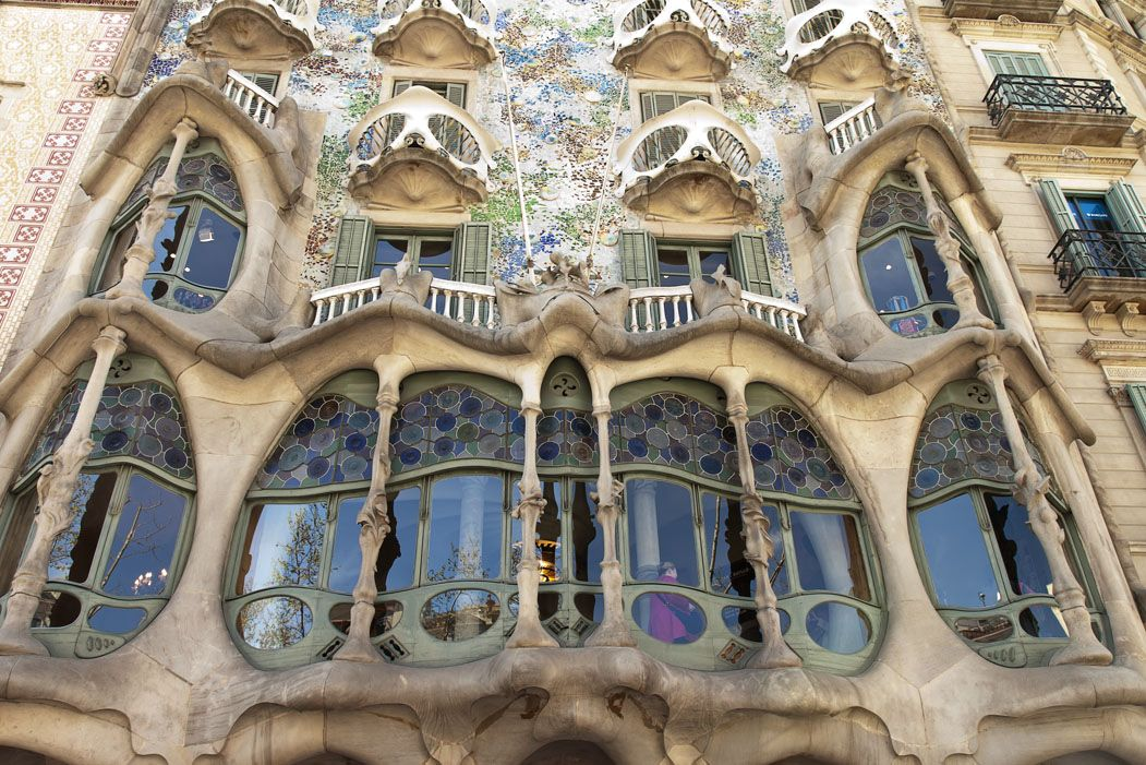 In Barcelona With Gaudi Architecture Lived A Climax Of The Sensual Curve