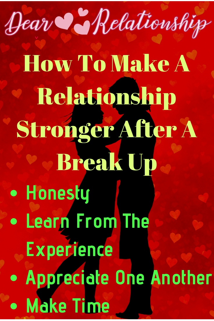 As strange as it may sound sometime breakups can end up
