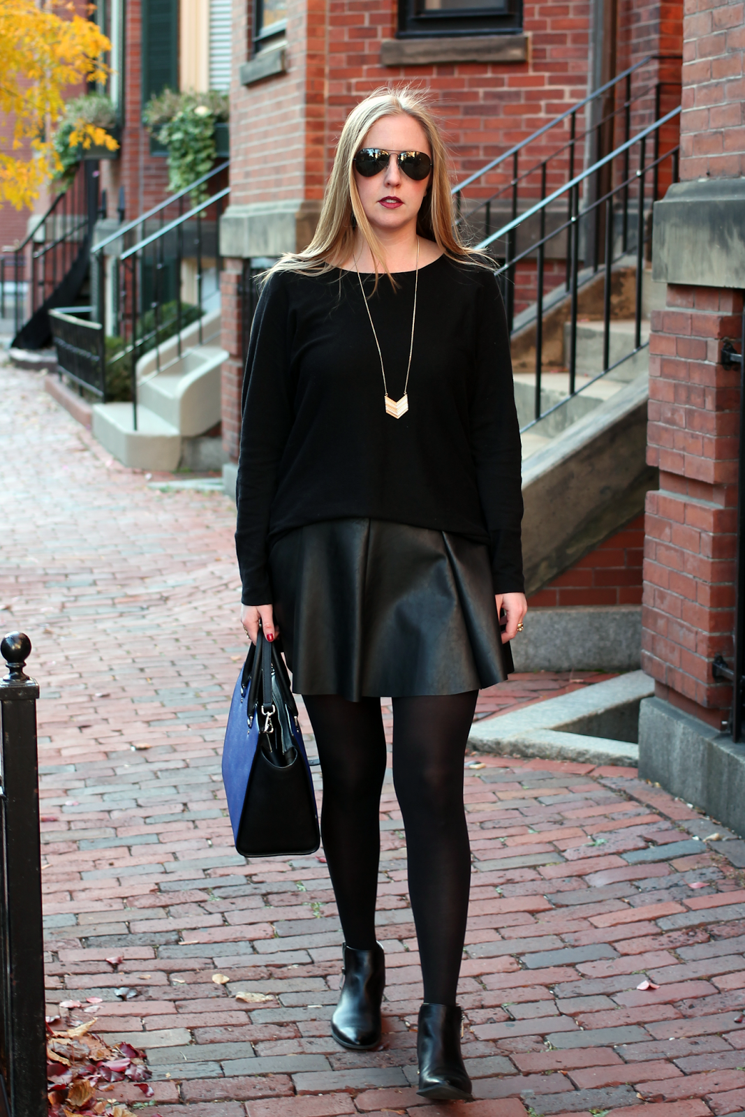 FAUX LEATHER FRIDAY www.style-blueprint.com (Fashionmylegs) | Total ...