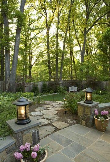 Our Favorite Landscaper J Mark White Of Garden Wise In Washington Dc Patio Stones Backyard Backyard Landscaping