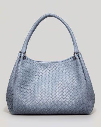 Medium Woven Double-Strap Tote Bag e50ee0bb5a2f5