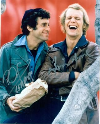 Autographed STARSKY & HUTCH By Two Stars