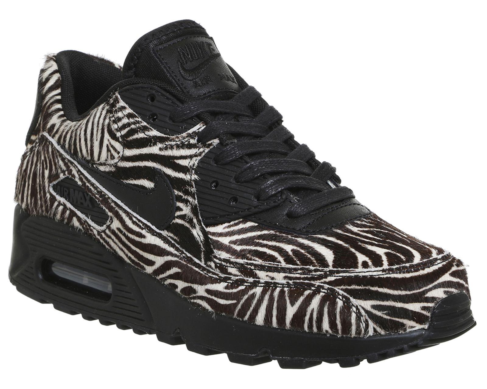 Nike Air Max 90 Zebra Black Sail