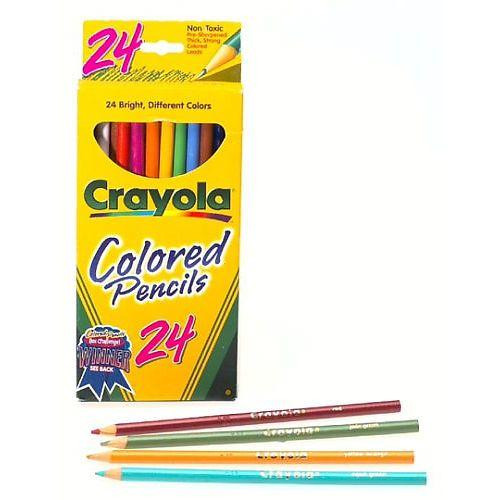 Emejing Crayola Coloring Pencils Contemporary Triamtereneus