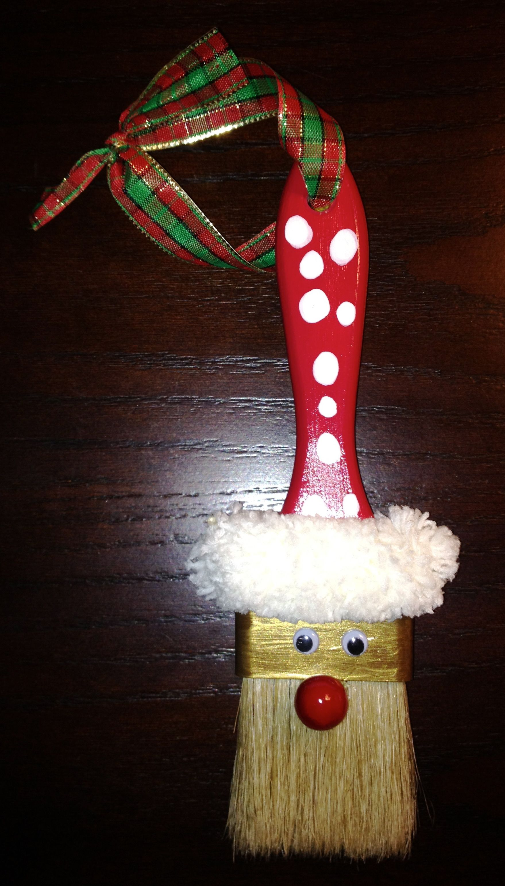 Santa Paint Brush ornament maybe to do w/ one of our