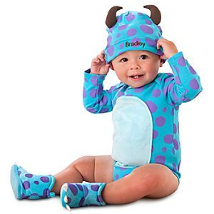 Sulley Disney Cuddly Bodysuit Collection For Baby Disney Store Baby Girl Pjs Baby Jumpsuit Baby Toddler