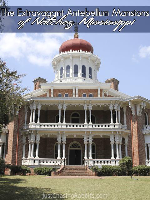 Longwood octagonal mansion The Extravagant Antebellum Mansions of Natchez, Mississippi   Just Chasing Rabbits #historichomes