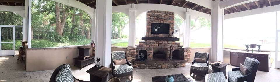 Outdoor Kitchen And Fireplace Tampa Bay Florida 813 360 3151 Indoor Fireplace Tampa Bay Florida Outdoor Kitchen