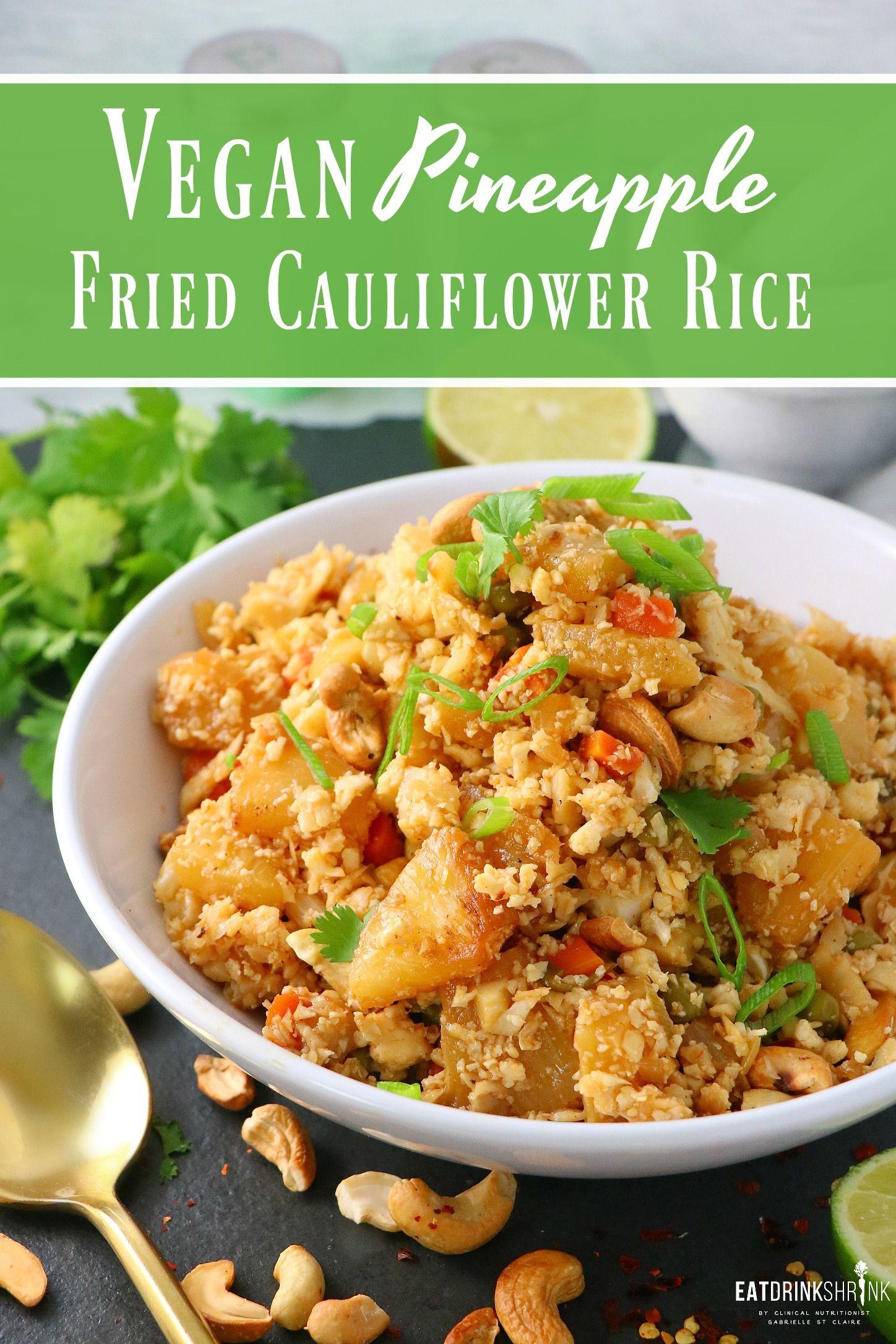 Vegan Recipes With Cauliflower
