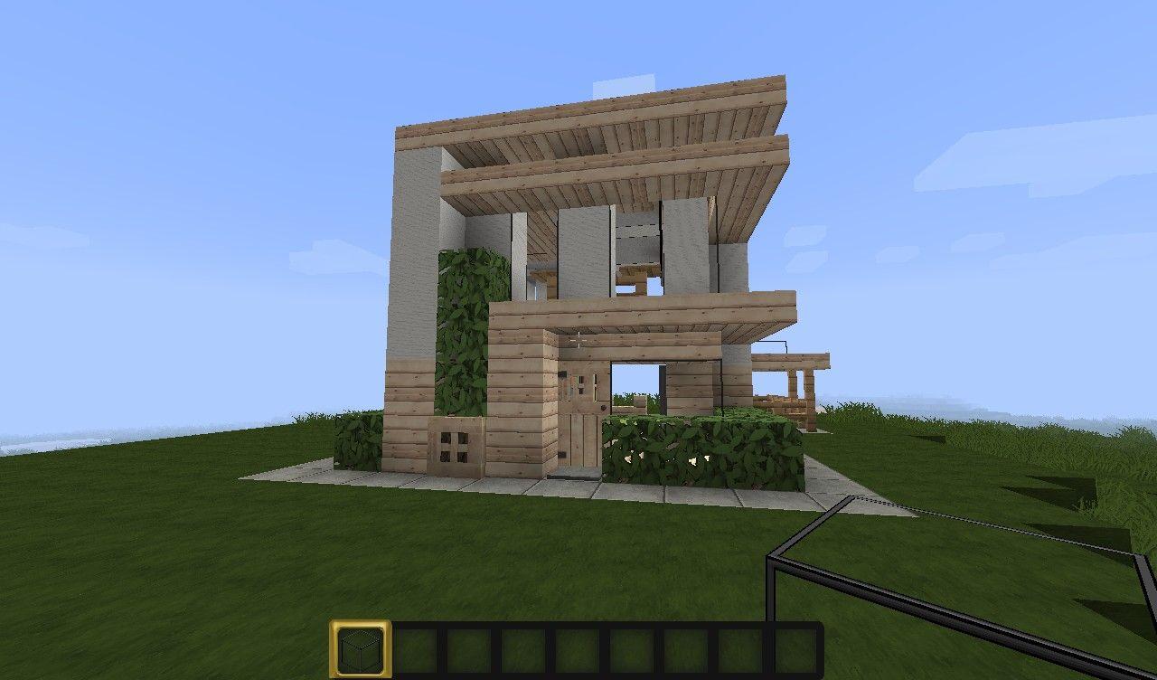Erkunde Minecraft Kleines Modernes Haus Und Noch Mehr! Minecraft Small  Modern House Minecraft Project