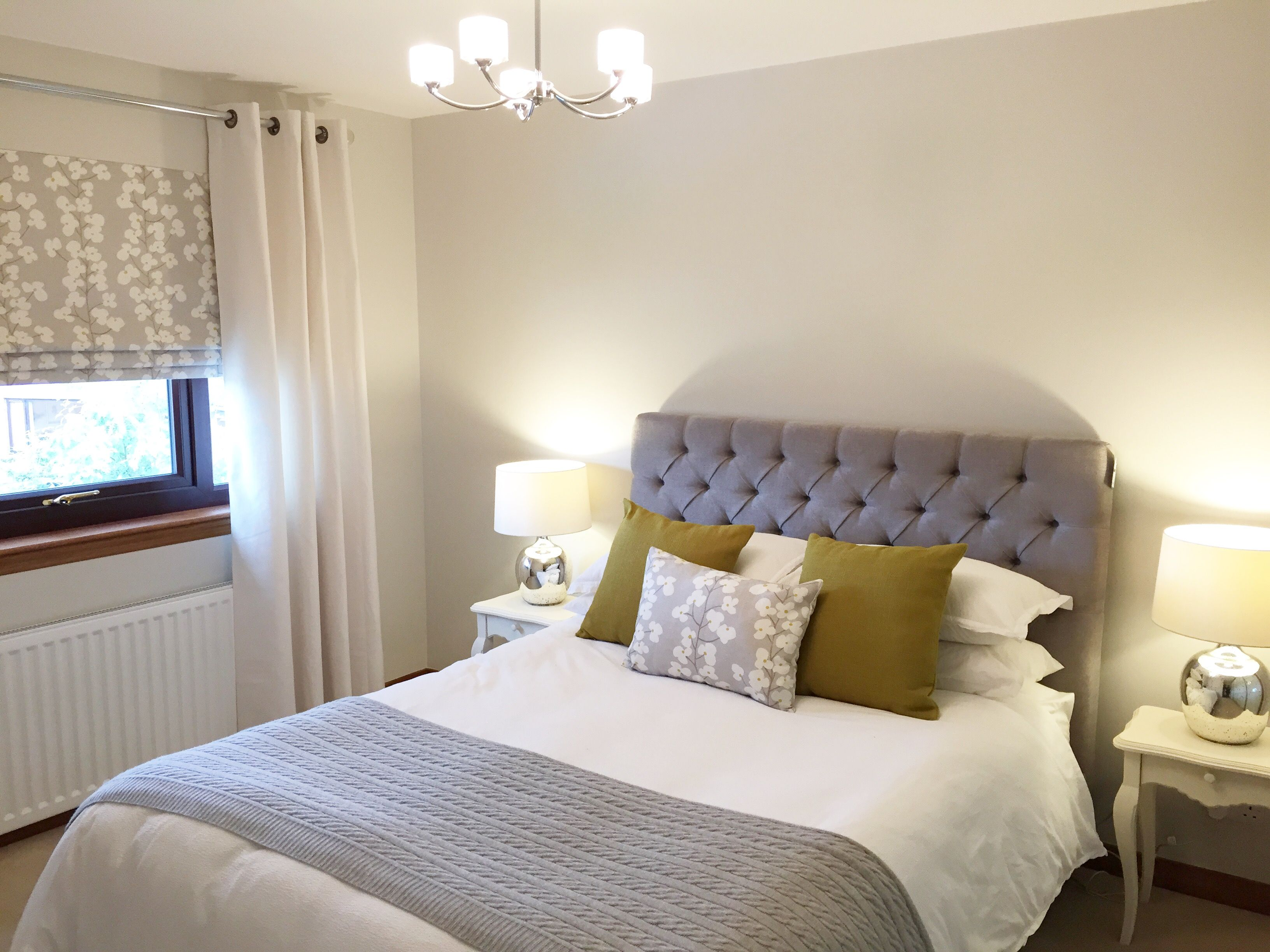 Walls Painted In Farrow And Ball Ammonite Beautifully Soft And Warm For A Bedroom Farrow And Ball Bedroom Guest Room Colors Relaxing Bedroom