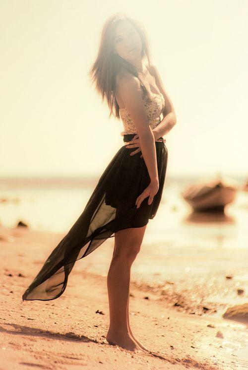 high-low beach dress