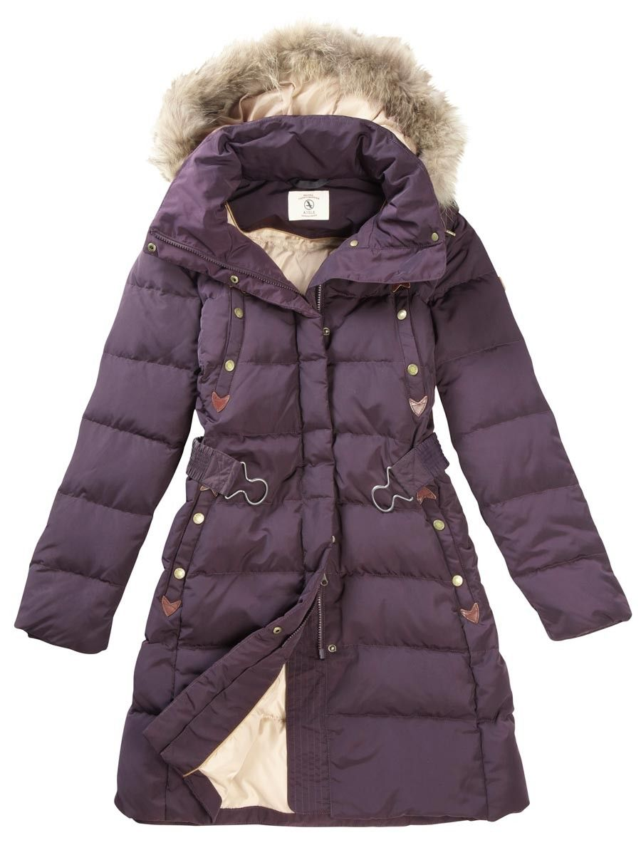 Aigle Downshine Padded Duck Down Jacket - Figue (Purple) | Ladies ...