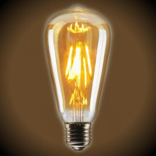 Led Filament Nostalgic Bulb 3 5 Watt Edison Style St19 2200k Vintage Bulb Bulb Led Bulb Design