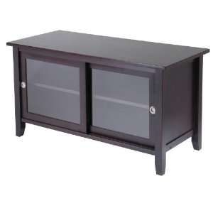 Easel Tv Media Stand W Drawers Power Outlet Locking Casters
