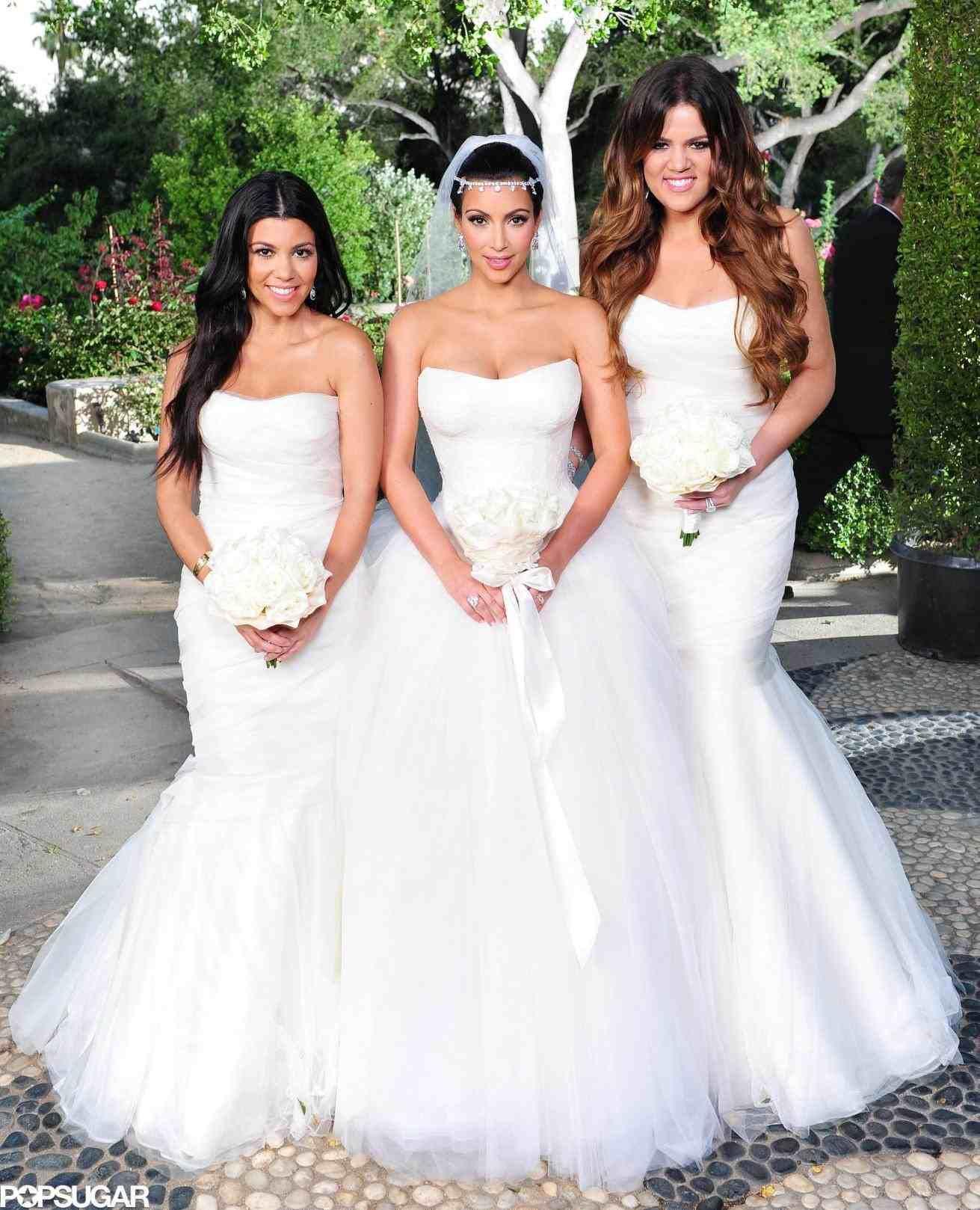 Kourtney Kardashian Wedding Dress Kim Kardashian Wedding Dress