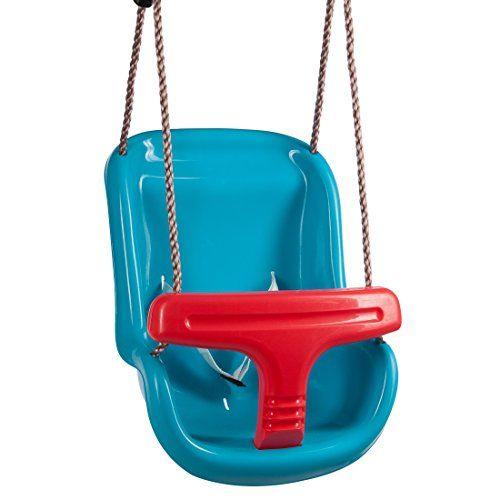 ea7142167f435c Ultrakidz Siège de balançoire pour bébé Basic avec un arceau de protection  et une ceinture balançoire