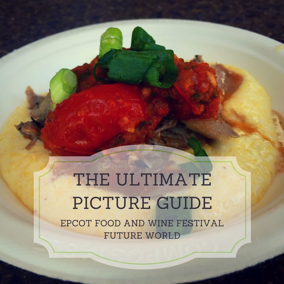Your Ultimate Picture Guide To Epcot International Food And Wine Festival 2016 Festival Center And Future World Booths With Images Wine Recipes International Recipes Food