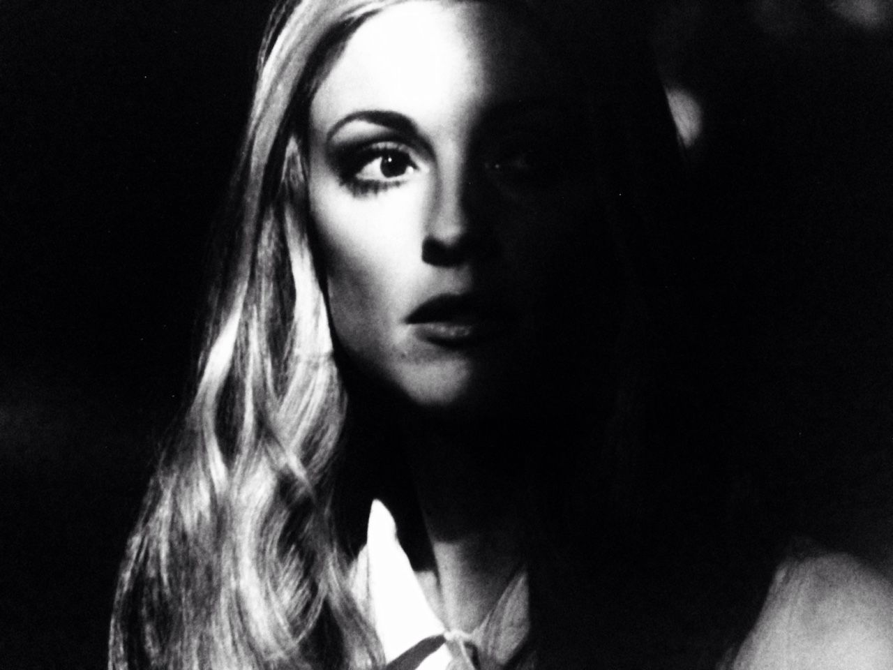 Sharon Tate in a promotional photograph for 12+1, 1969