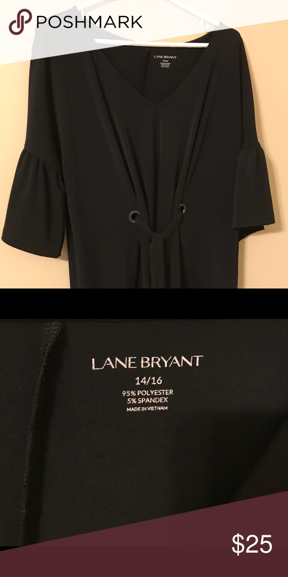 074dfb7a0e8 Lane Bryant Black dressy top It s brand new with the tags. It s a size  14 16. Lane Bryant Tops