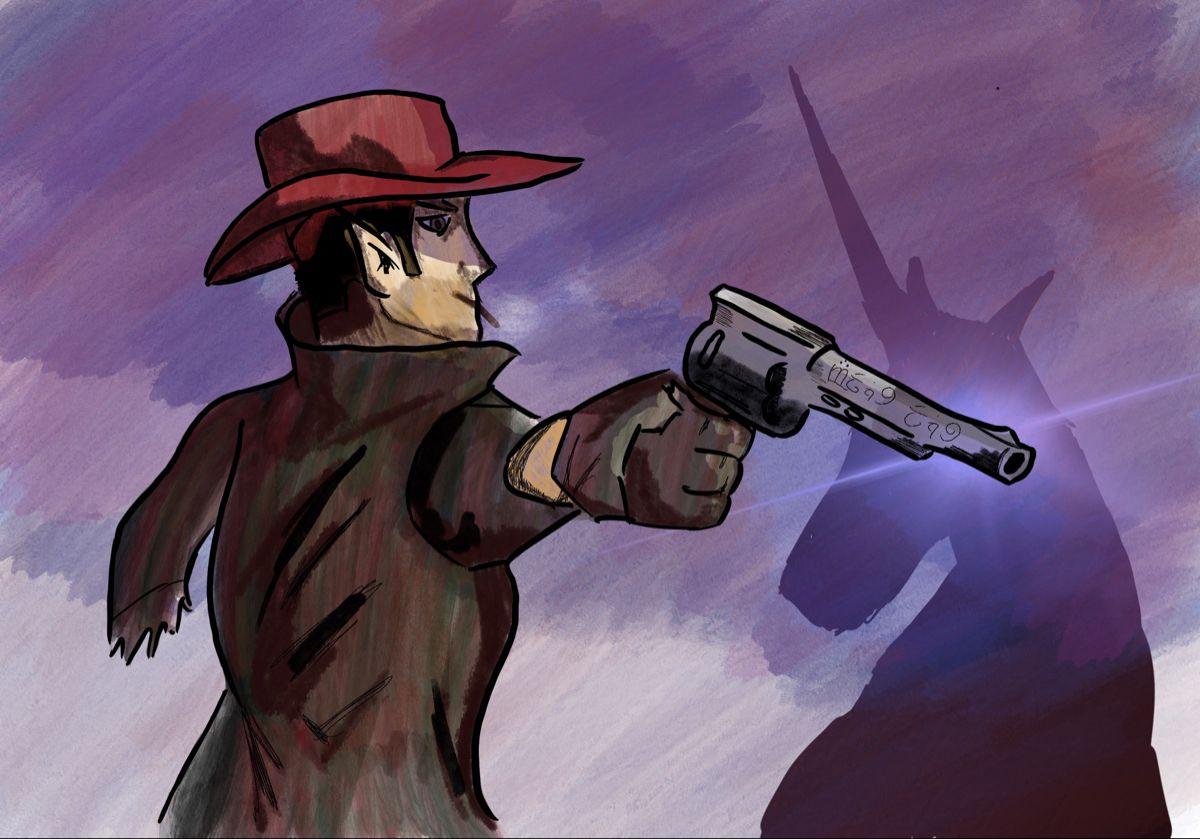 Western Fantasy Western Movie Fantasy Anime