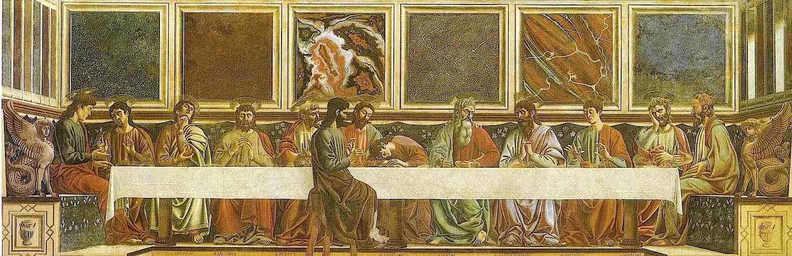 Nei prossimi mercoledì pomeriggio, dalle ore 15.00 alle ore 17.00, apertura straordinaria del Cenacolo di Sant'Apollonia: 24 - 31 maggio, 7 – 14 - 21 giugno