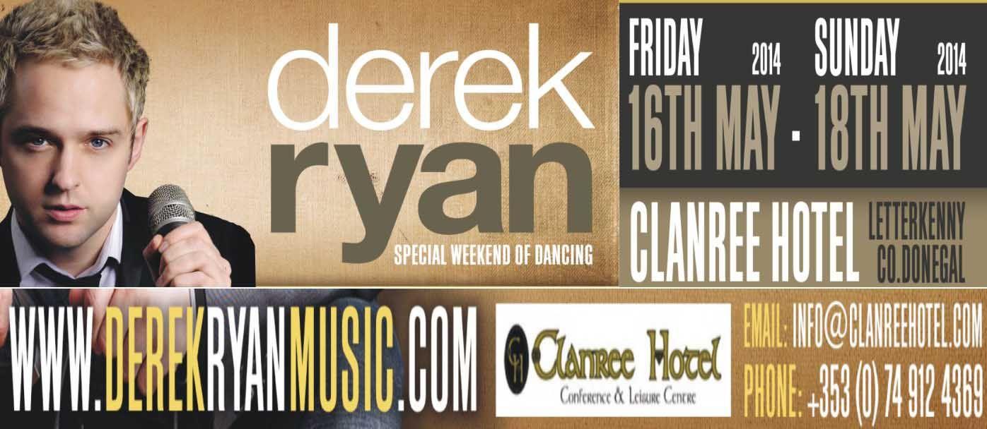 Clanree, Special Weekend of dancing. Letterkenny Irish