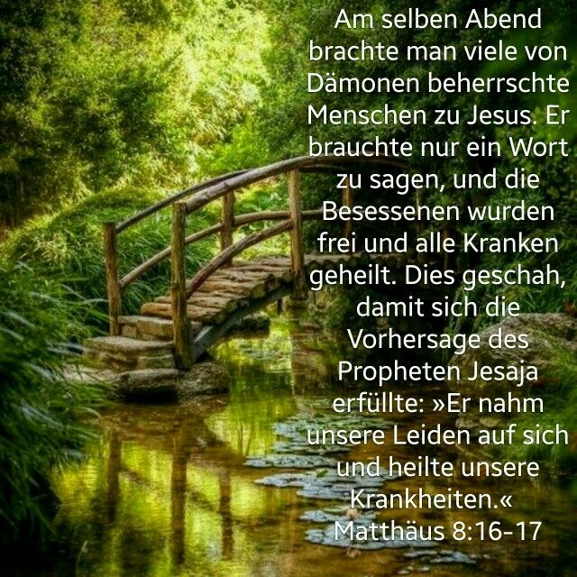 Bibelverse Heilung